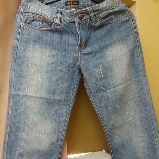 Authentic Mango Crop Jeans