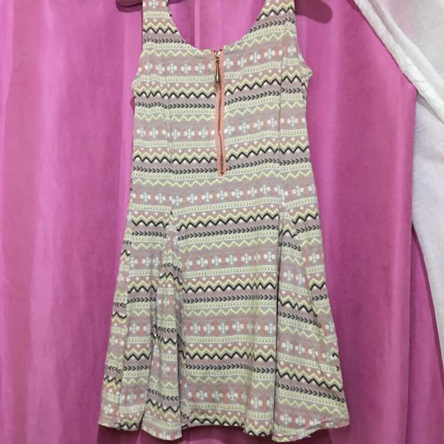 AZTEC PINK DRESS