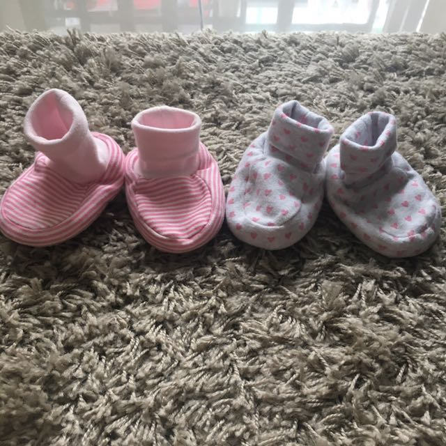 Baby 2 Pairs Pre Walker Shoes