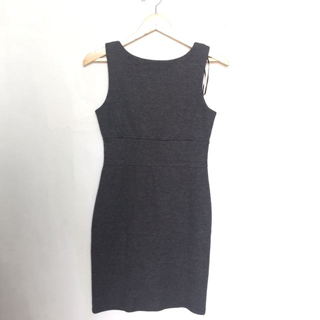 Backless Slim Fit Dress