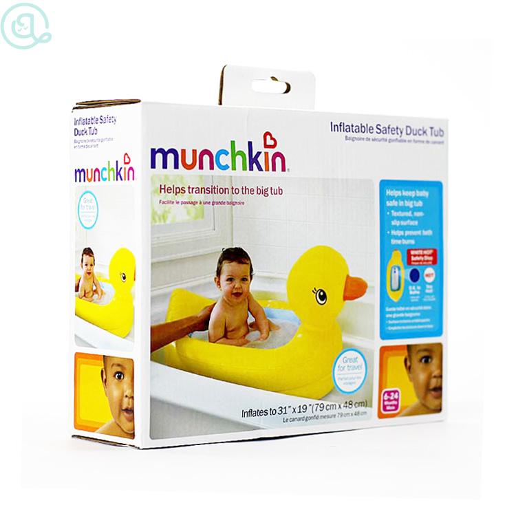 Bak Mandi Bebek / Munchkin Inflatable Duck Tub