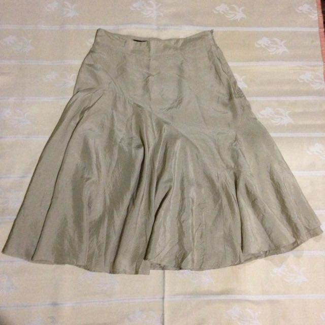 Balenciaga Silk Skirt