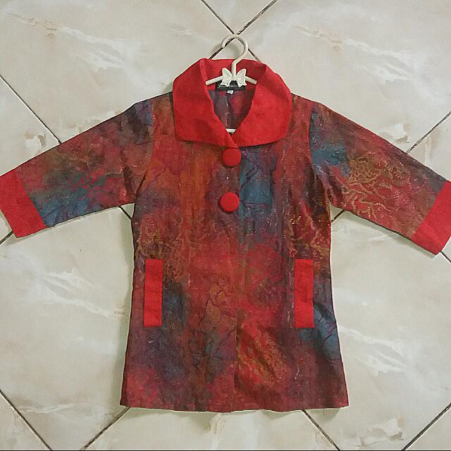 Batik Jessica V*alentina Red