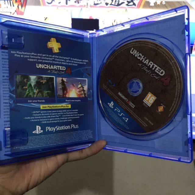BD kaset PS 4 Uncharted 4 & For Honor Seru Gokil Apalagi Kalo Main Online