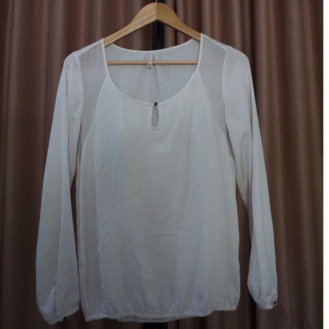 Bershka Long Shirt