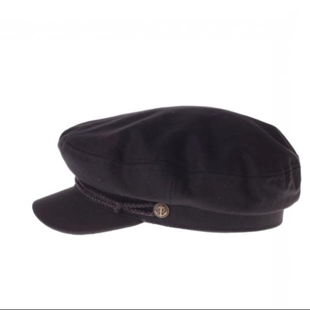 Black Britton Fiddler Cap