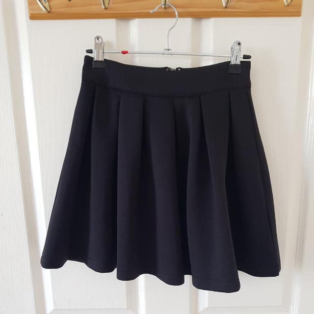 Black Skater Skirt Size 6/XS