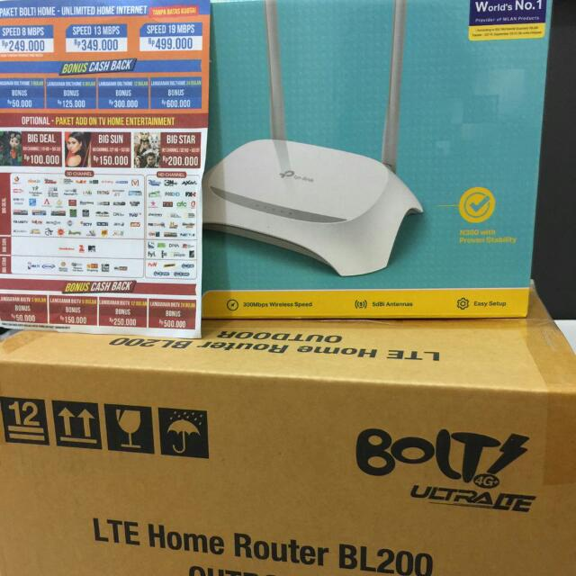 BoltHome Wifi Router Outdoor Taurus Unlimited Elektronik Lainnya Di Carousell