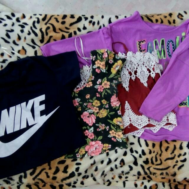 Bundle Of Crop Tops❤