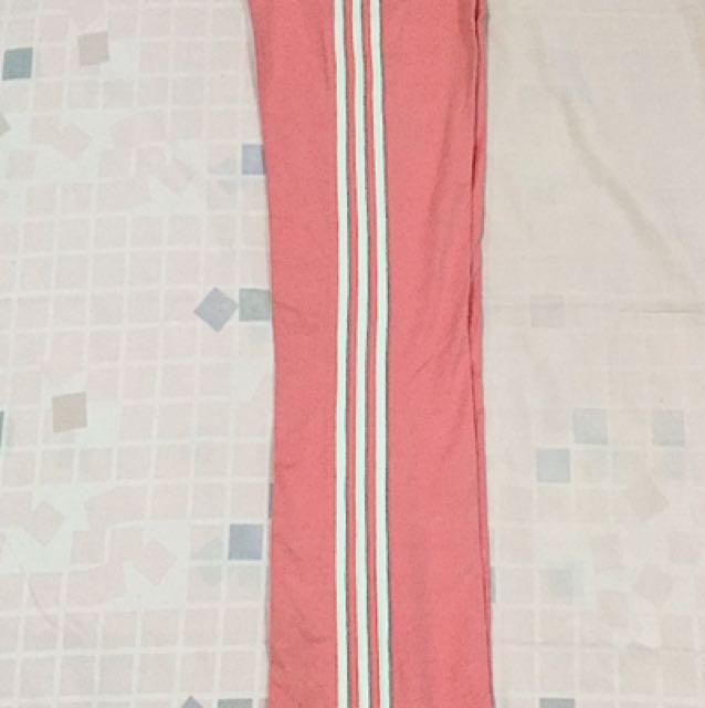 Celana Panjang / Training Pink Adidas