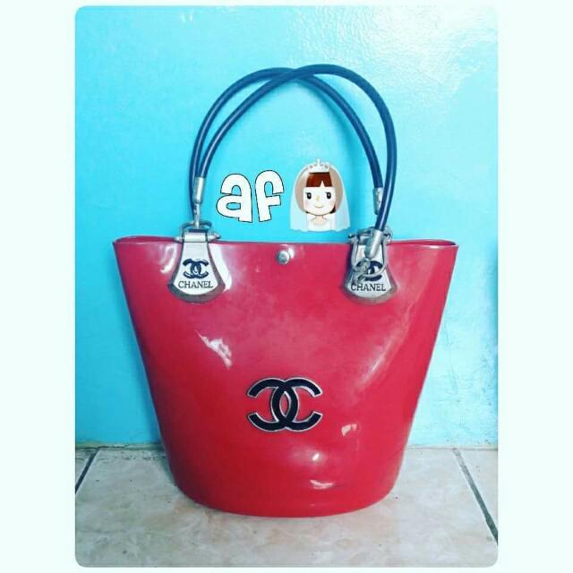 Chanel Jelly Bucket