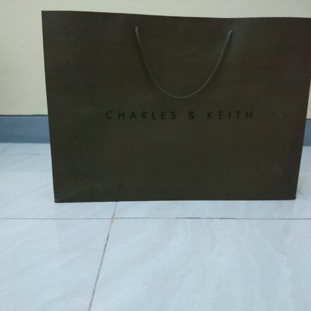 Charles & Keith Big Paperbag