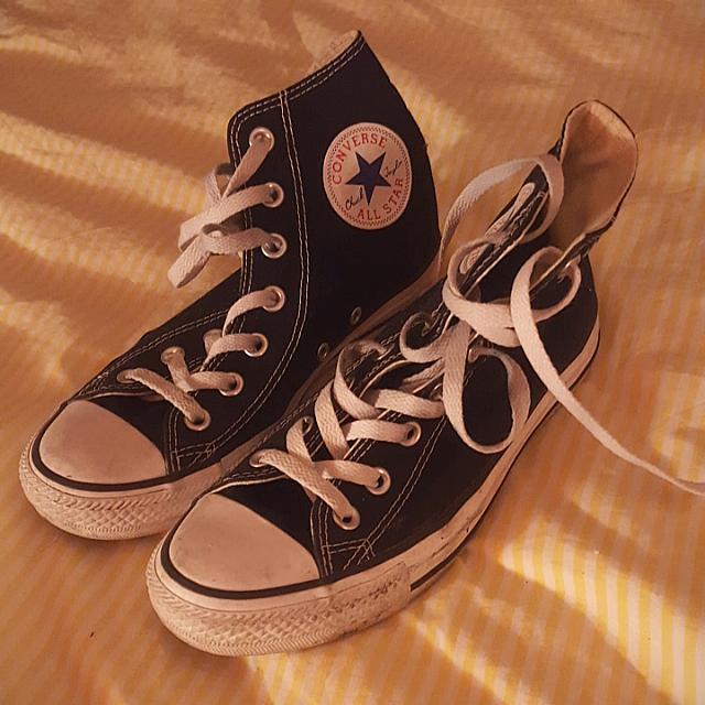 Classic Converse Hi-Top in Black