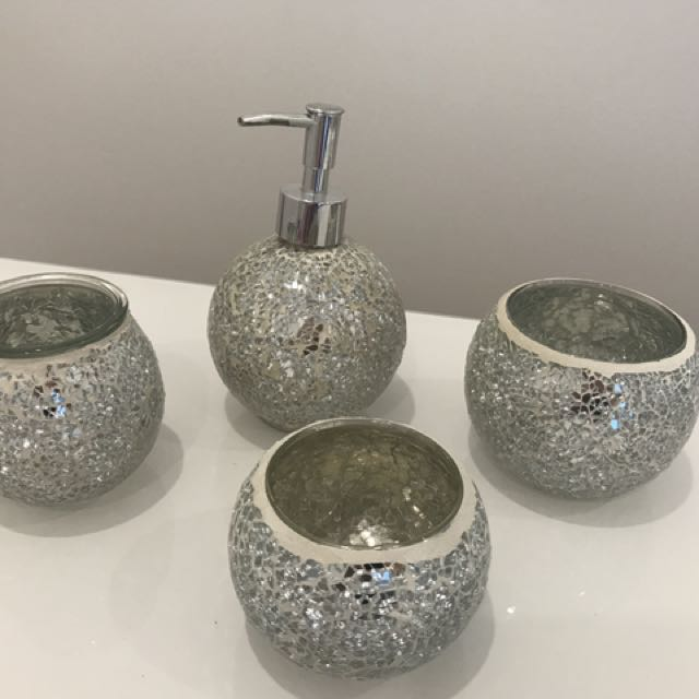 Crystal Jewellery Box + Glass Ware