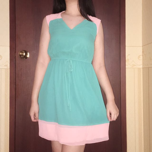 Cute Party Casual Dress Tosca Pink