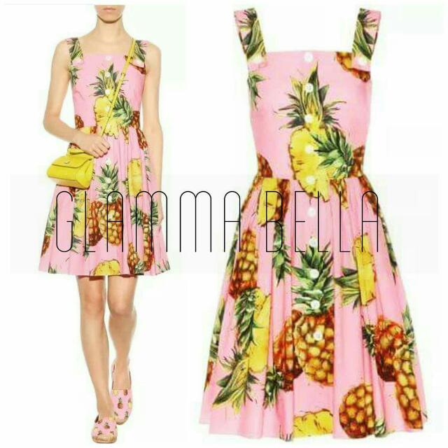 D&G Inspired Pineapple Dress ♥