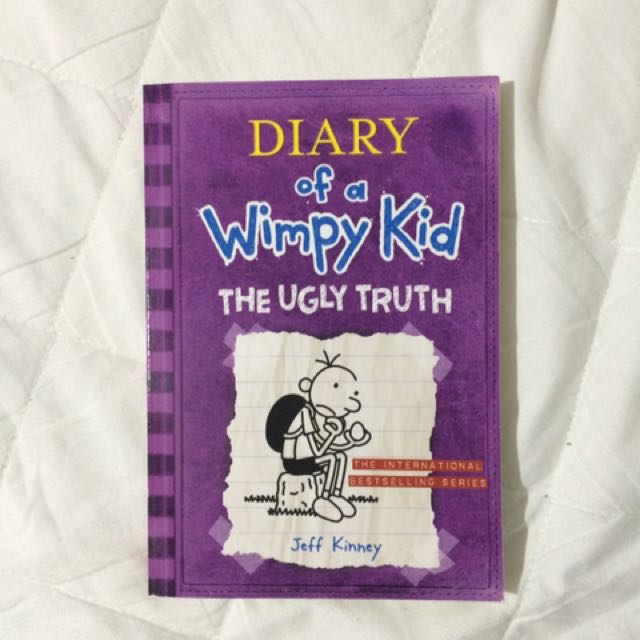 NEW✨Diary Of A Wimpy Kid The Ugly Truth