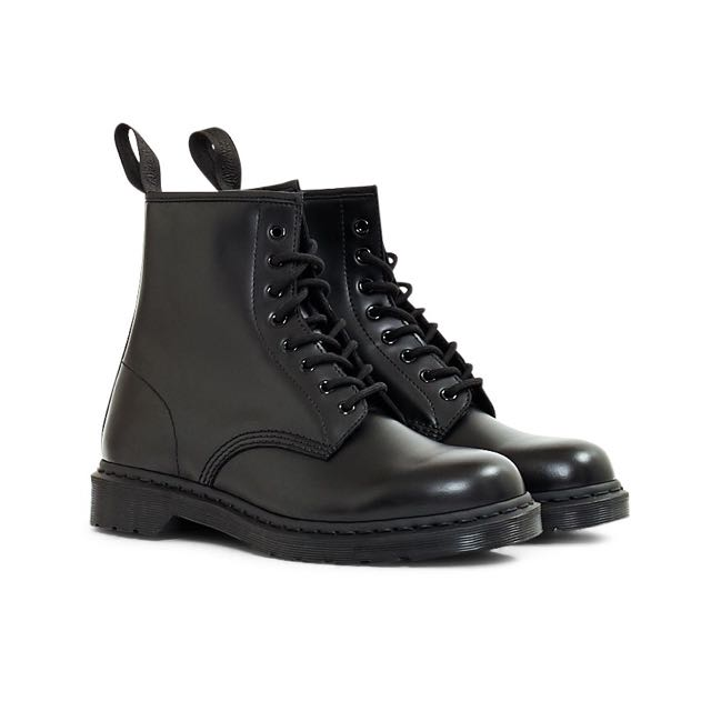 Dr Martens 1460 Monochromatic Smooth Black