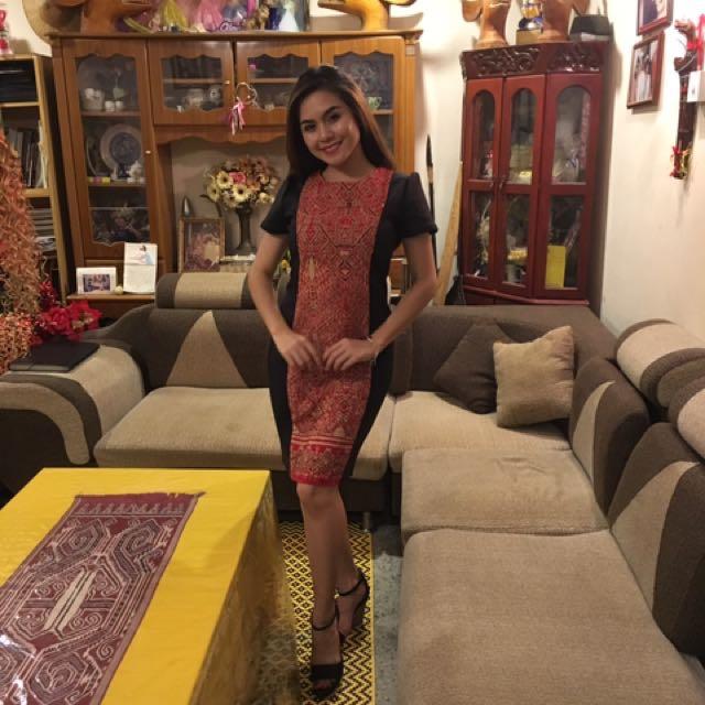 Dress Batik Sarawak 58b1c8fcf3