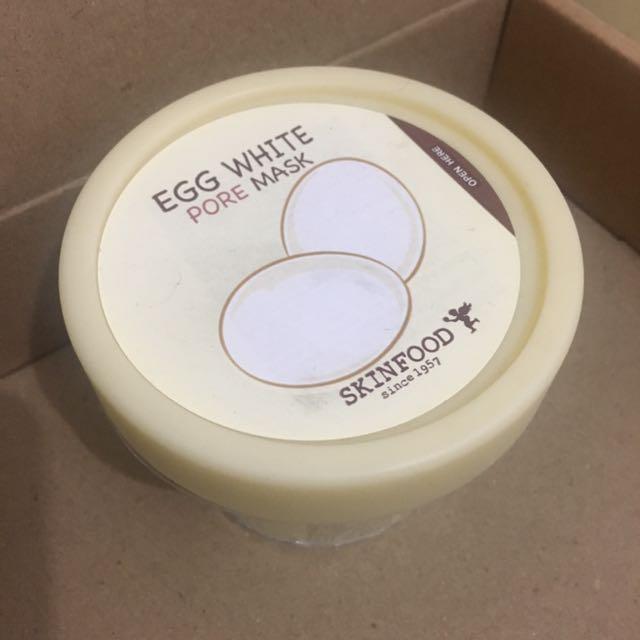 Egg White Pore Mask By Skinfood