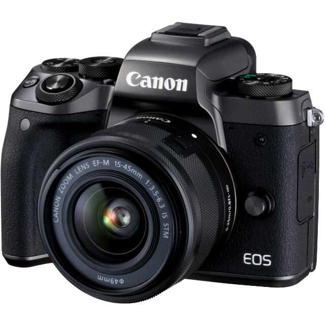 EOS M5 with 15-45 lenses
