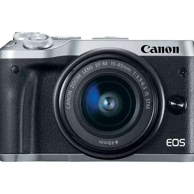 EOS M6 with EF-M 15-45 Lens (Canon)