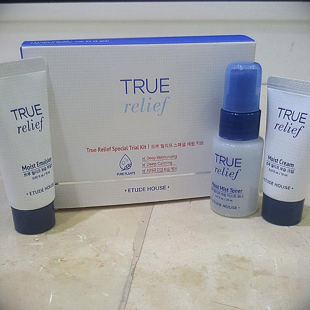 Etude True Relief Special Trial Kit