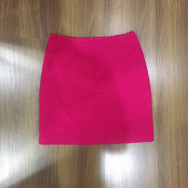 F21 Pink Skirt SZ Medium