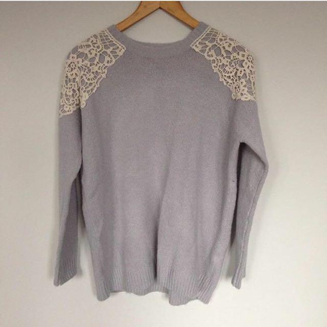 F21 Wool Sweater