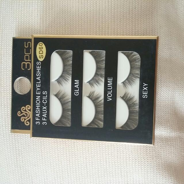 Faux Lashes 3 In 1