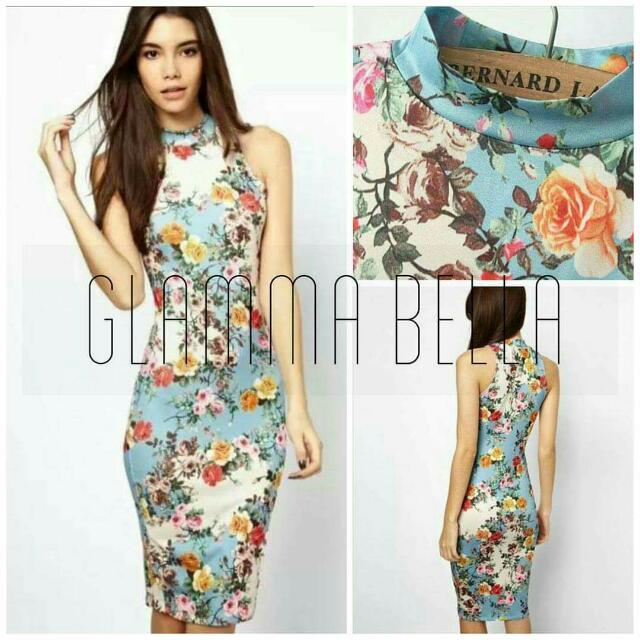 Faye Floral Bodycon ♥