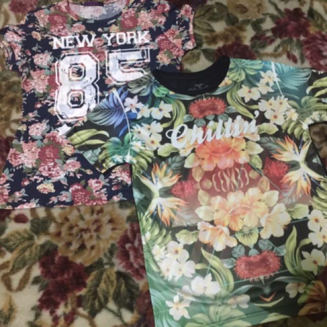 Floral T-shirt Bundle