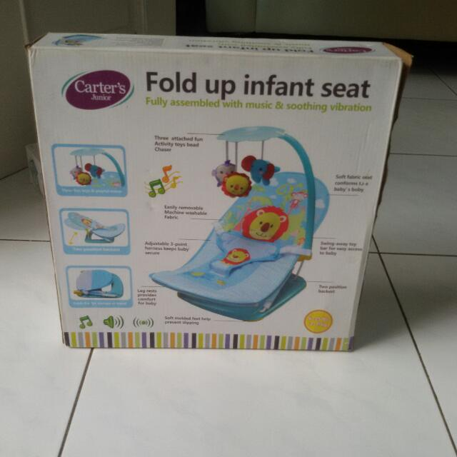 "Fold Up Infant Seat ""Carters Junior"""