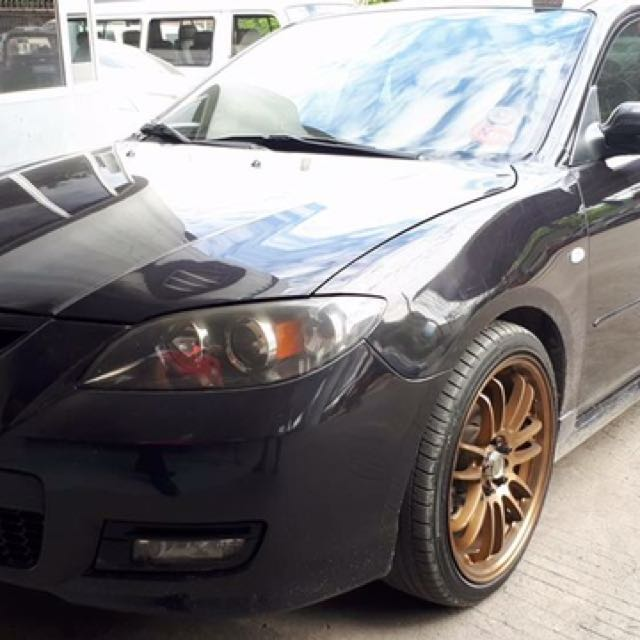 For Sale: MAZDA 3 2009 model 1.6 liter engine. Automatic transmission with tiptronic mode +/-
