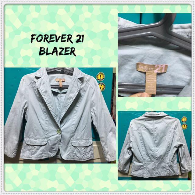 Forever21 3/4 Blazer