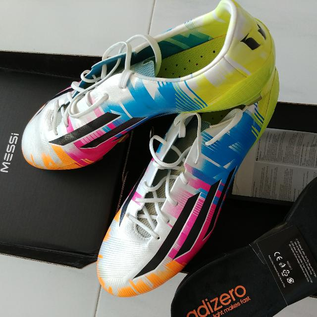 db4ef6f30074 FRIST GRADE Messi F50 Adizero FG US10, Sports, Sports & Games ...