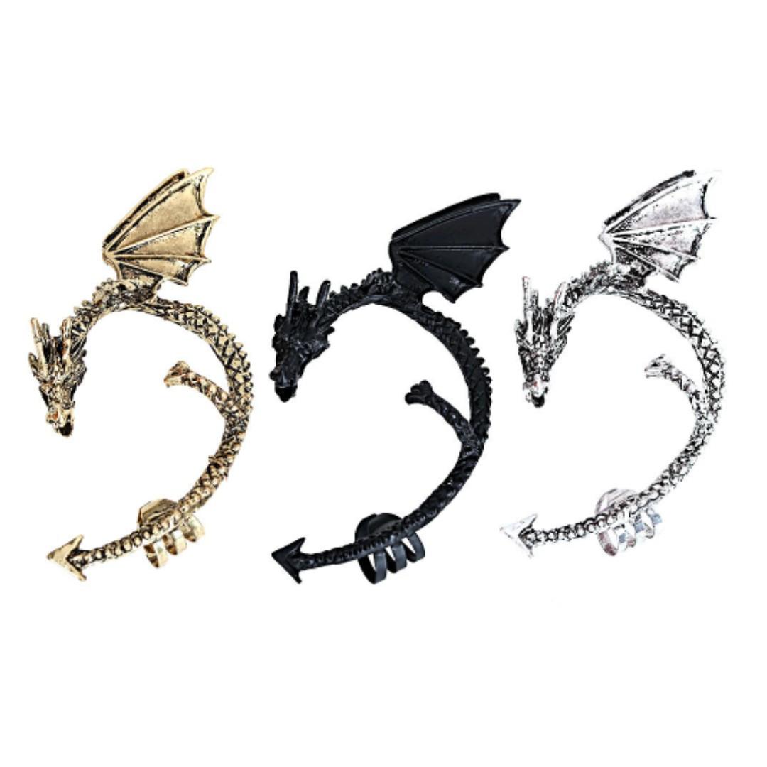 Game of Thrones Targaryen dragon ear cuffs