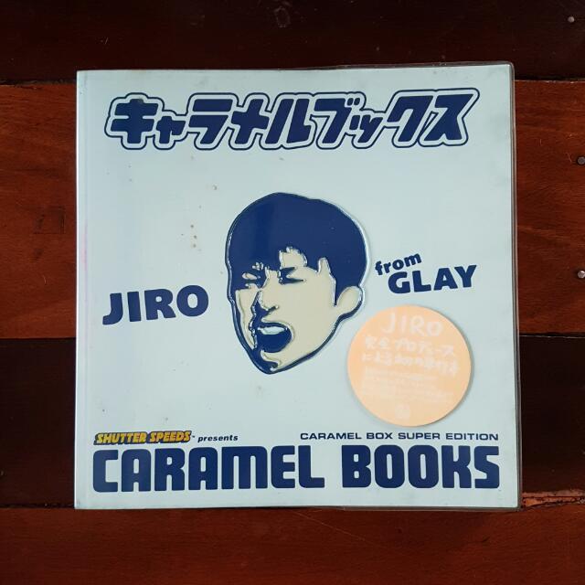 "GLAY JIRO ""Caramel Books"" Photobook Original 1998"