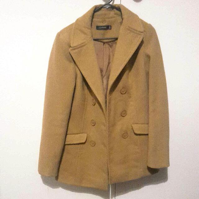 Good Condition Glassons Camel Coat