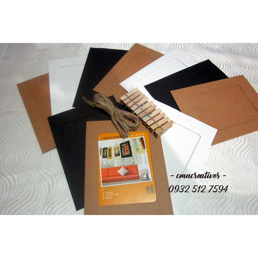 Hanging Photo Frame (craft colors)