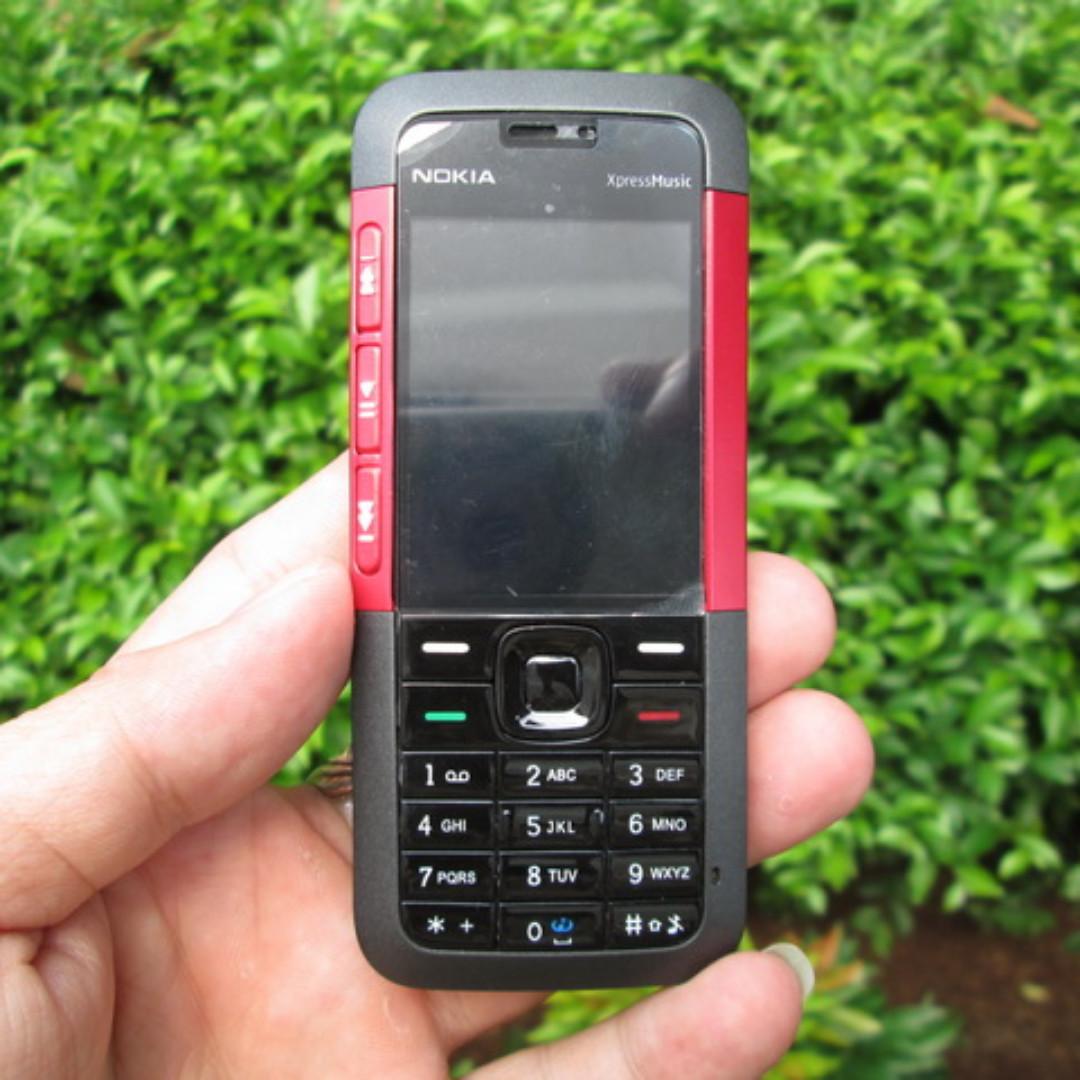 Hape Jadul Nokia 5310 Xpressmusic Seken Mulus Kolektor Item Mobile
