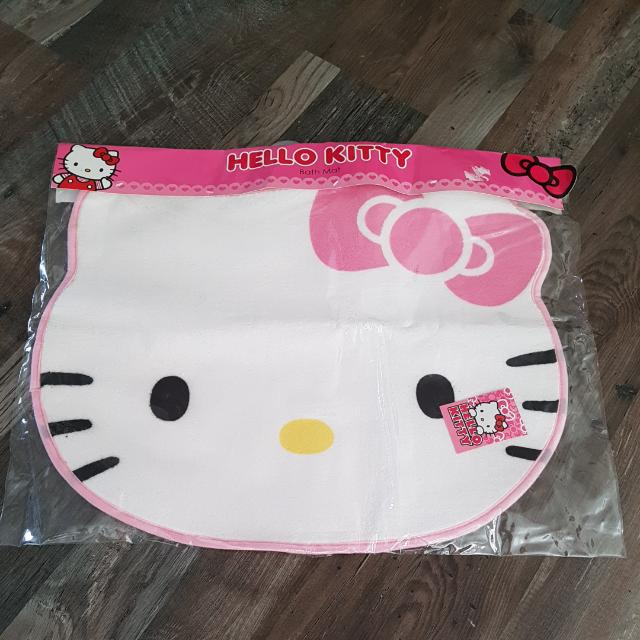 Hello Kitty Bath Mat Babies Kids On Carousell