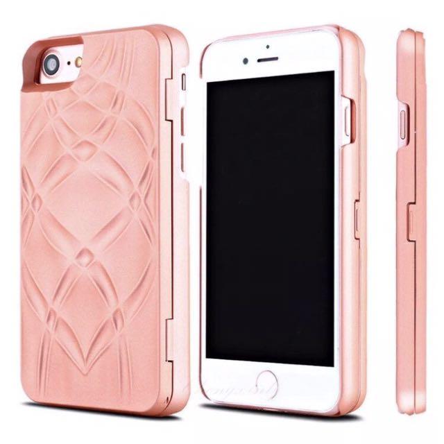 Iphone 6/6s Mirror & Wallet Case