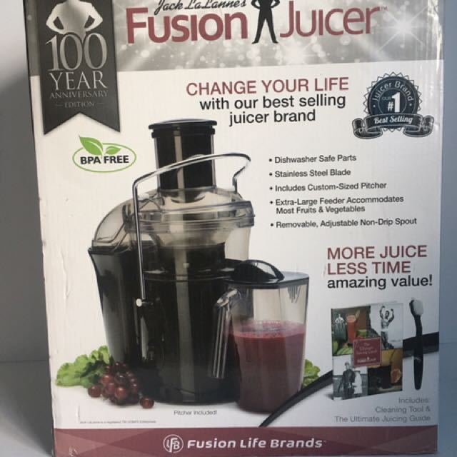 Jack La Lanne Fusion Juicer 100 Year Anniversary Edition