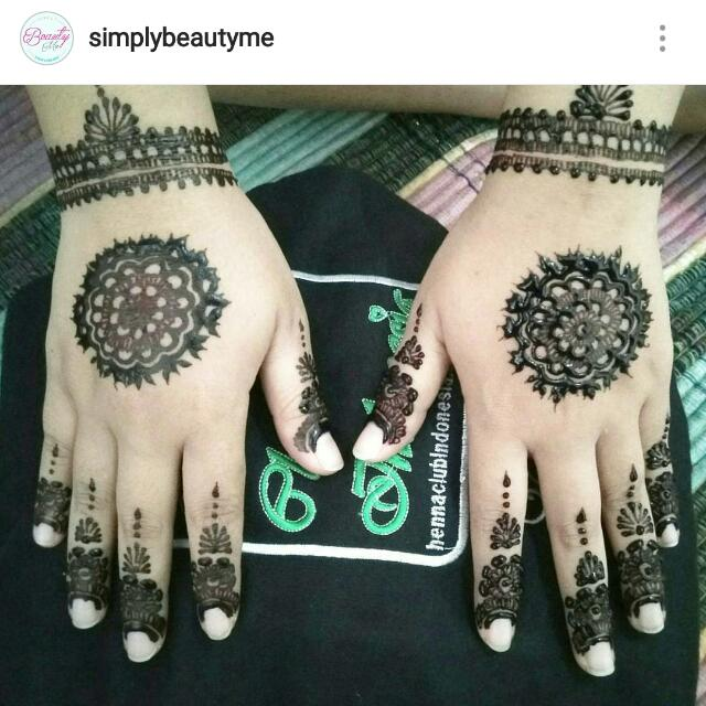 Jasa Lukis Henna Wedding
