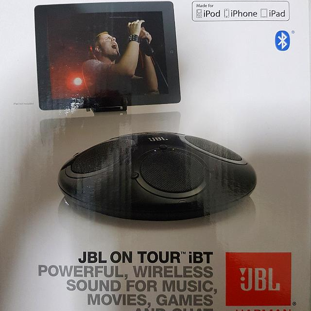 jbl on tour ibt speaker electronics others on carousell rh sg carousell com