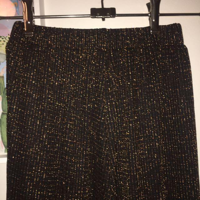 Kinki Gerlinki Bronze Threaded Culottes