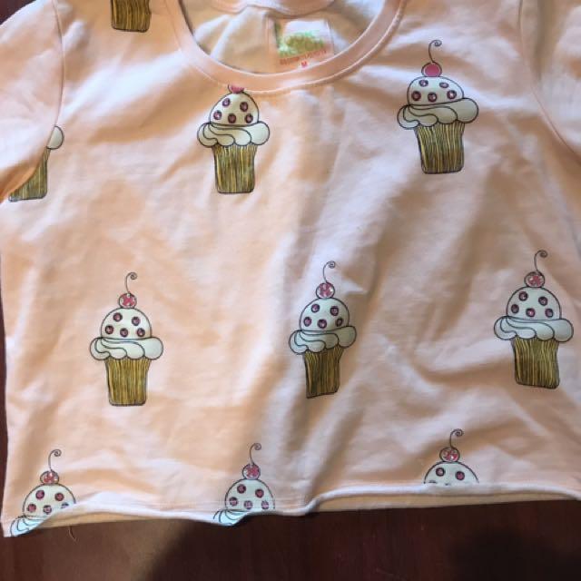 Kook And Keech Cupcake Croptop