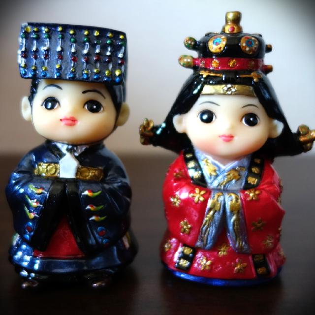 Korea traditional doll series