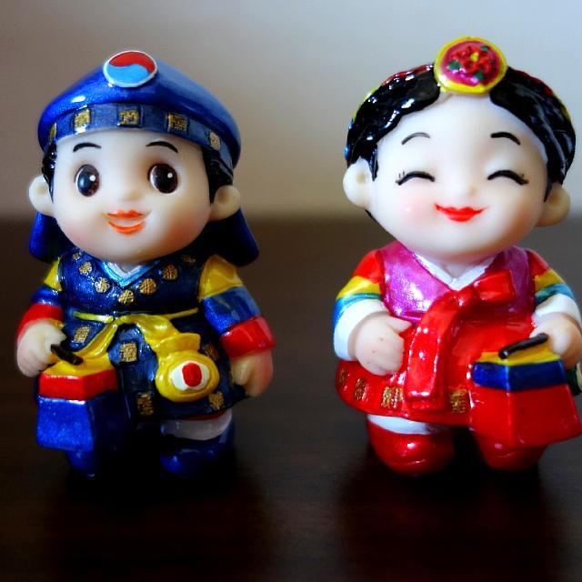 Korea traditional doll series